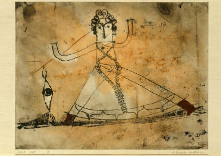 Klee, Paul: Classical Grotesque. Fine Art Print/Poster (5032)